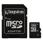 Kingston Micro SDHC Class 4 Memory Card