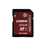 Kingston SDXC UHS-I U3 Memory Card 256 GB